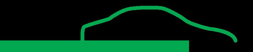L'Expert Carrossier - Icône Auto du logo avec ligne verte